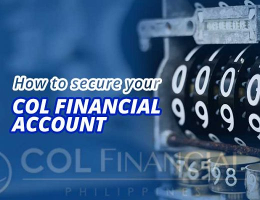 How to secure your COL Financial Account